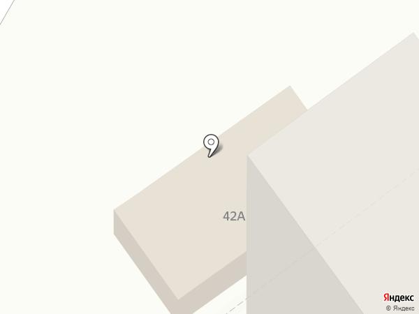 Соточка на карте Тольятти