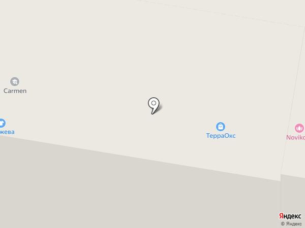 Изюм на карте Тольятти