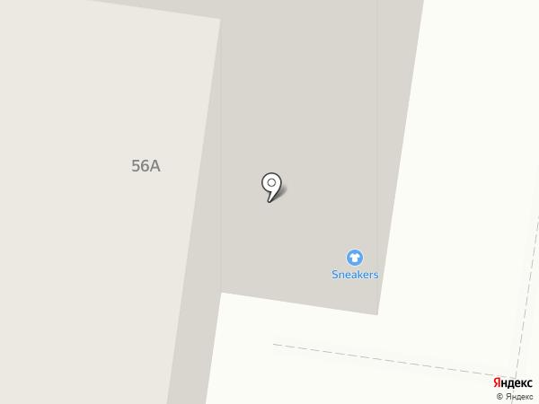 Натуральная нить на карте Тольятти