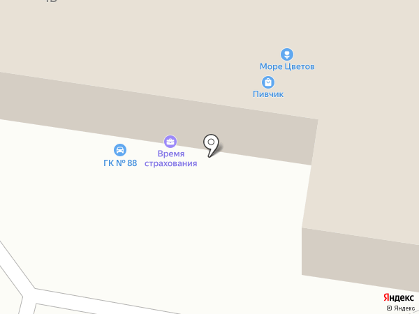 Автомойка на карте Тольятти