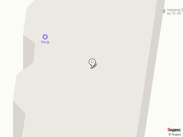 Мартин на карте Тольятти