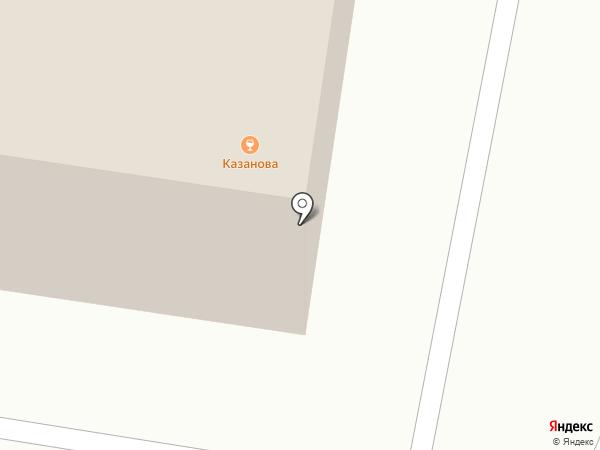 Казанова на карте Тольятти