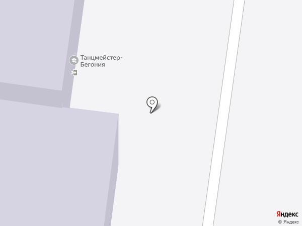Танцмейстер-Бегония, НОУ на карте Тольятти