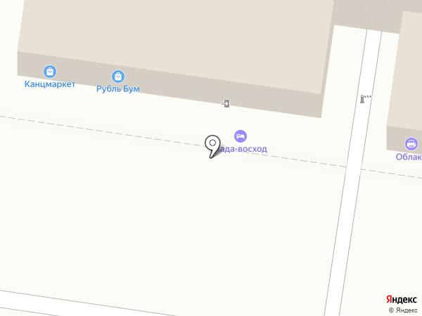 Киселевых на карте Тольятти