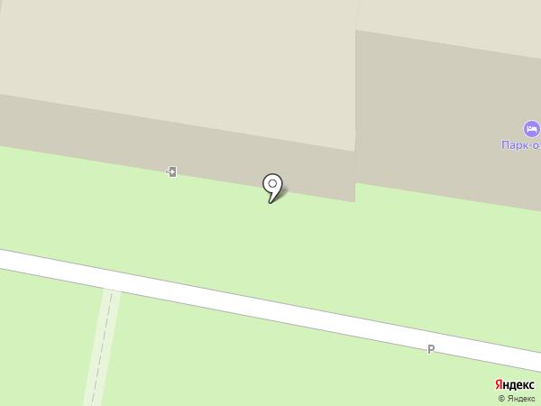 Парк Отель на карте Тольятти