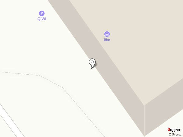 Лис на карте Тольятти