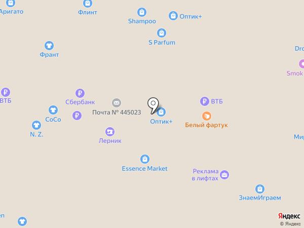 В Мадагаскаре на карте Тольятти