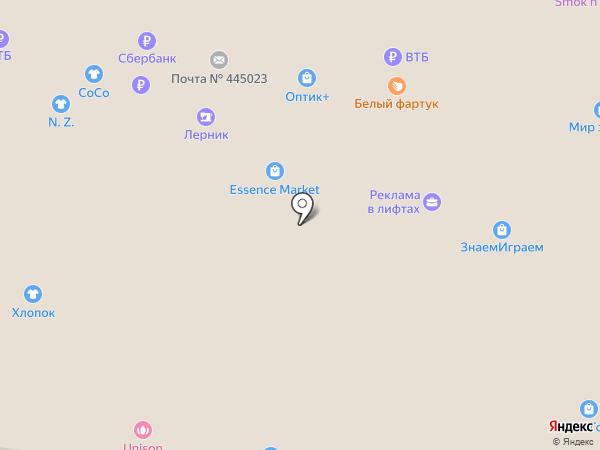Happy Market на карте Тольятти