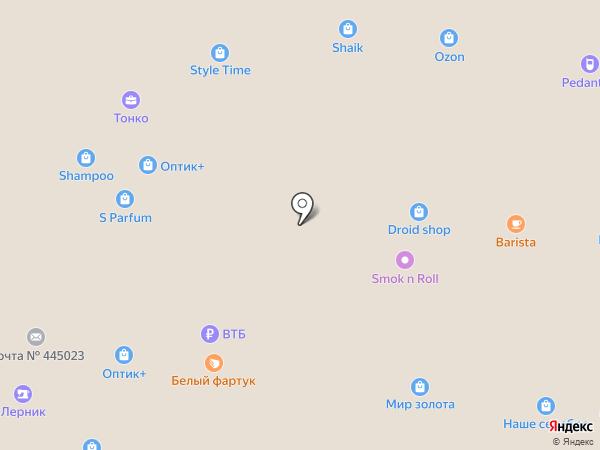 И-МНЕ на карте Тольятти