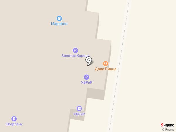 Podio на карте Тольятти