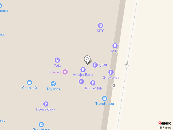 Agiotage на карте Тольятти