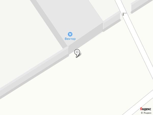 Вектор на карте Тольятти