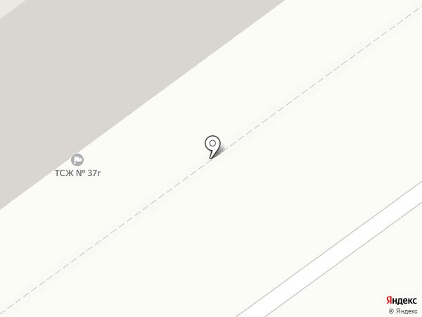 ТСЖ №37Г на карте Тольятти