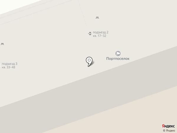 Портпоселок на карте Тольятти
