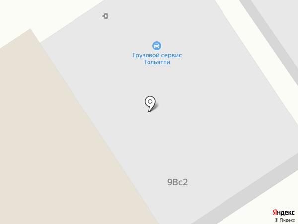 Автохолод63 на карте Тольятти