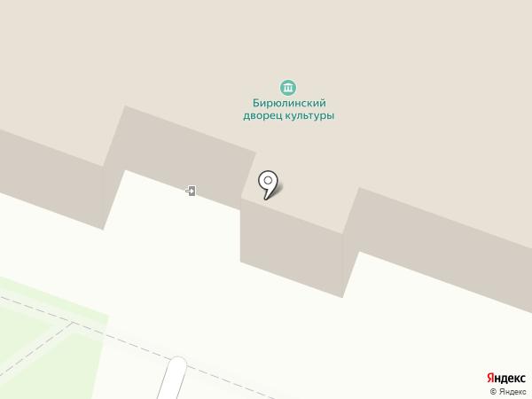 Исполнительный комитет Бирюлинского сельского поселения на карте Бирюлинскога зверосовхоза