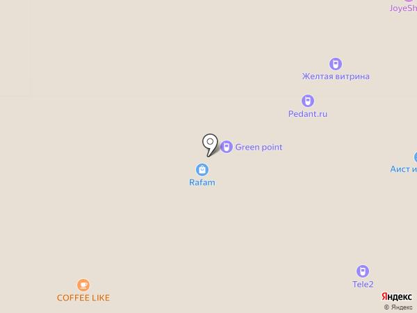 Джуманджи на карте Тольятти