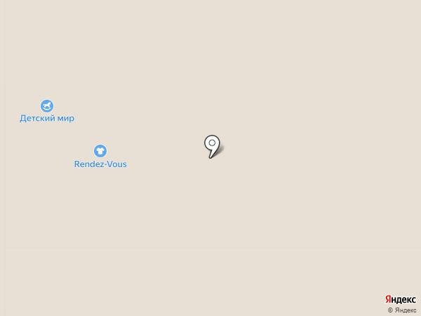 Детский мир на карте Тольятти