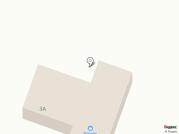 Продуктовый магазин на карте Бирюлинскога зверосовхоза