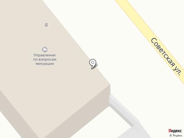 ГИБДД Ставропольского района на карте Тольятти