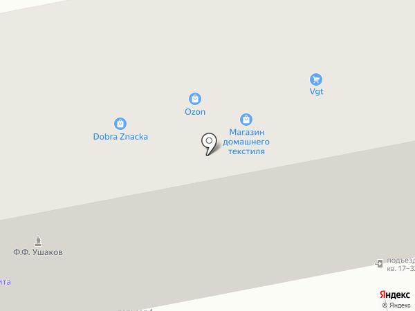 Добрая Значка на карте Тольятти