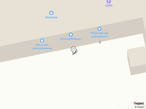 Борковский хлеб на карте Тольятти