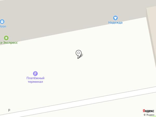 Надежда на карте Тольятти