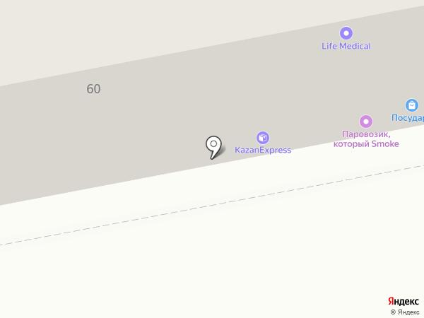 Тамбовчанка на карте Тольятти