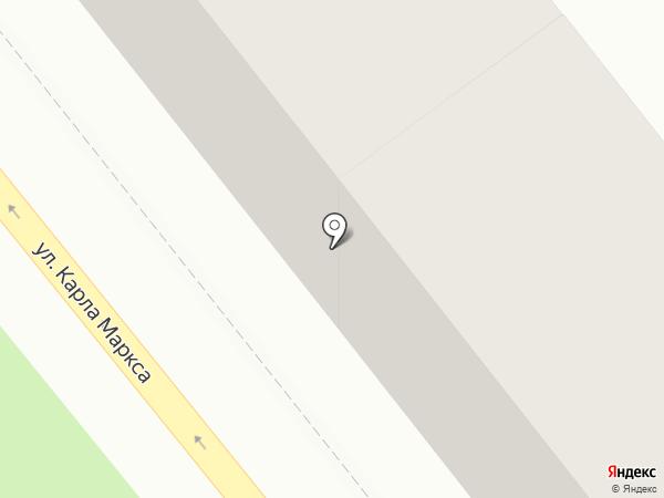 Магазин продуктов на карте Тольятти
