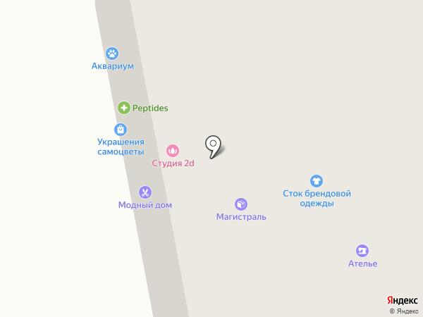Престиж на карте Тольятти