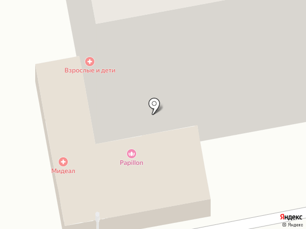Медиал на карте Тольятти