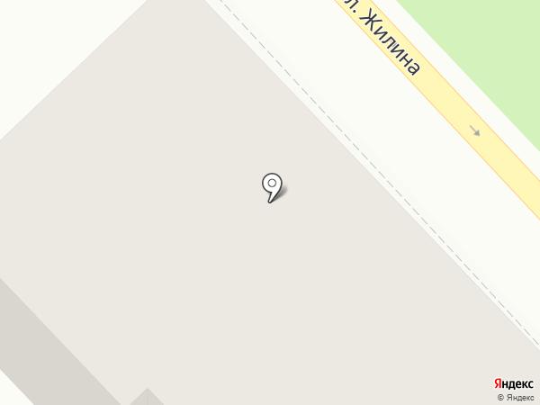 Ножницы на карте Тольятти
