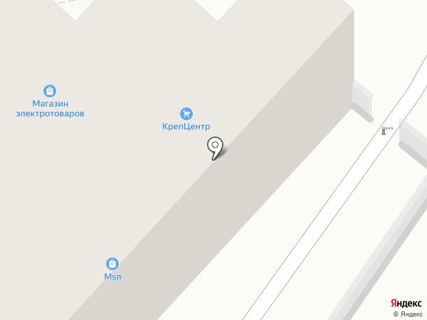 Магазин крепежных изделий на карте Тольятти