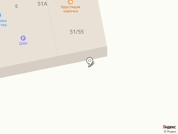 ТЛТ на карте Тольятти