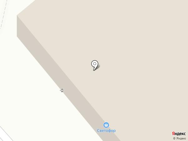 Божья коровка на карте Тольятти