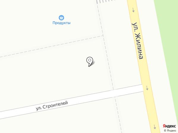 Жигулёвская бухта на карте Тольятти