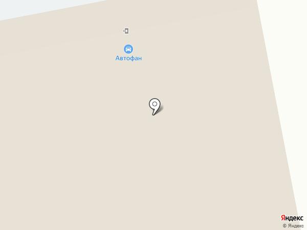 АВТОФАН на карте Тольятти