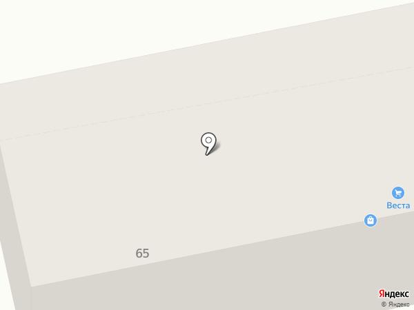 Магазин-ателье на карте Тольятти