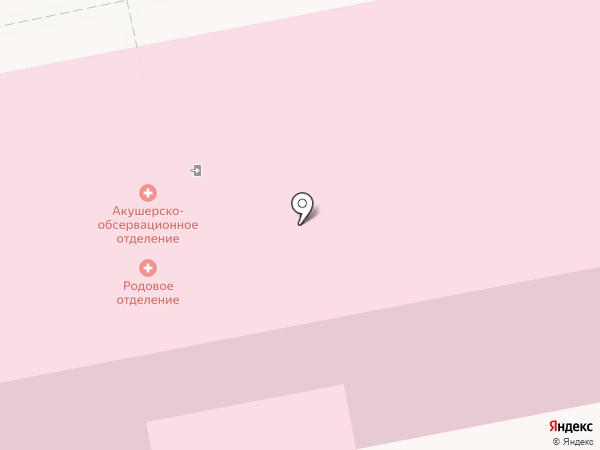 Городская больница №2 им. В.В. Баныкина на карте Тольятти