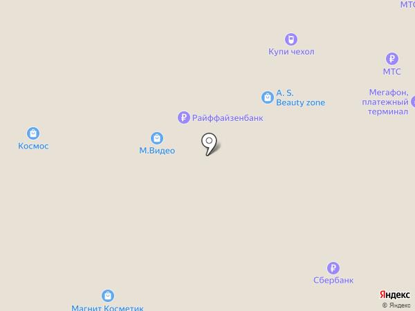 Космос на карте Тольятти