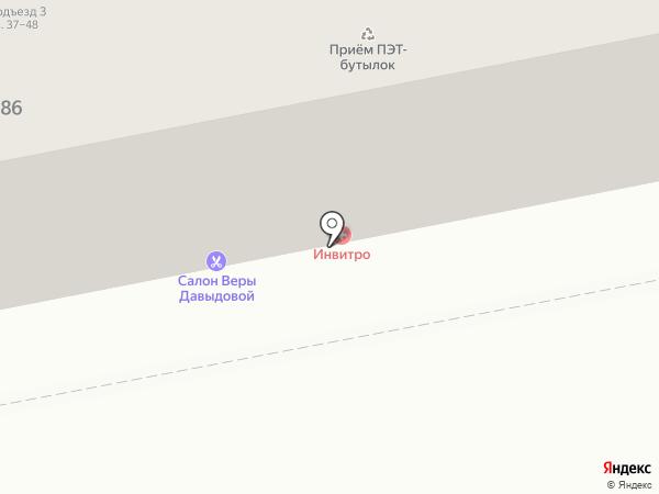 Усы на карте Тольятти