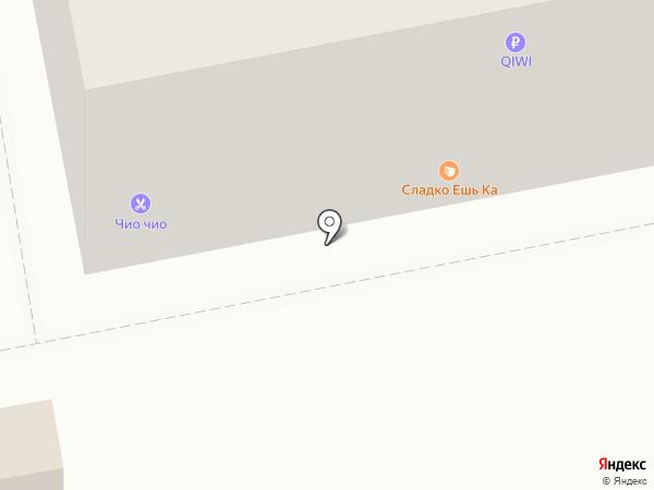 Тамада на карте Тольятти