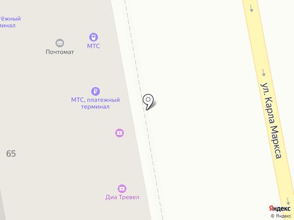 Связной на карте Тольятти
