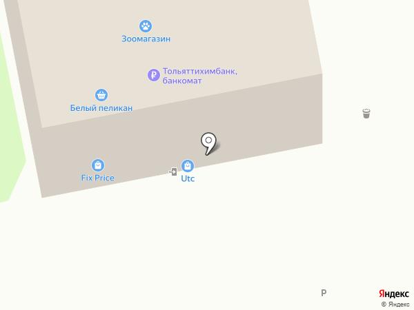 Мебельный островок на карте Тольятти