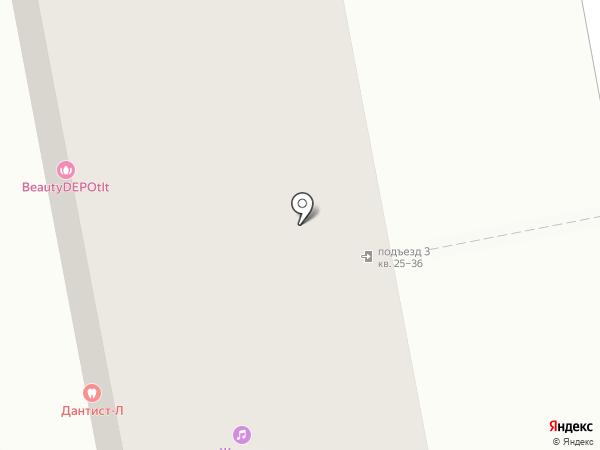 Дно на карте Тольятти