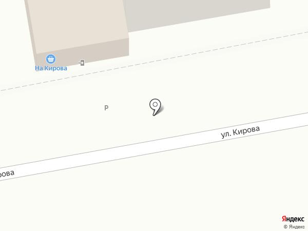 На Кирова на карте Тольятти