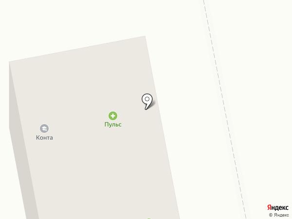 Пульс на карте Тольятти