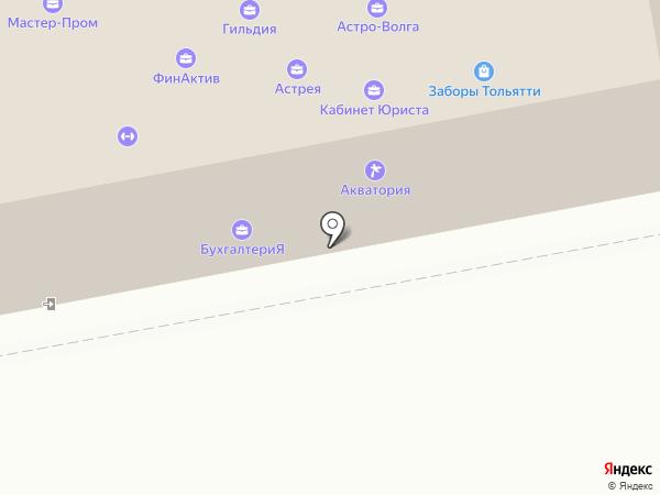 Страховая компания на карте Тольятти