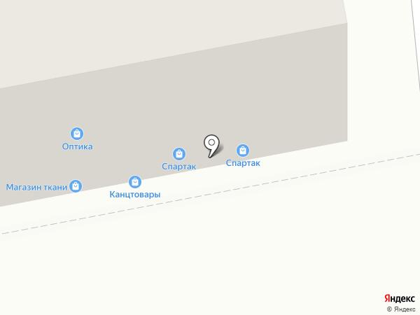 Магазин мужской одежды на карте Тольятти