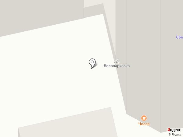 Числа на карте Тольятти